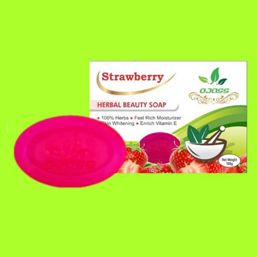 Strawberry Herbal Soap
