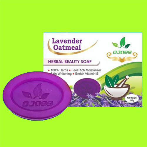 Lavender & Oatmeal Herbal Soap