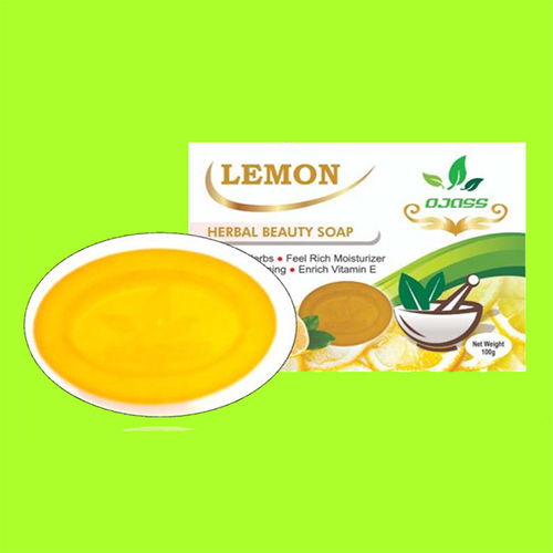 Lemon Herbal Soap