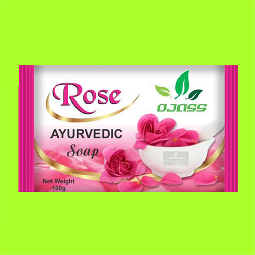 Rose Ayurveda Soap(Extruded Soap)
