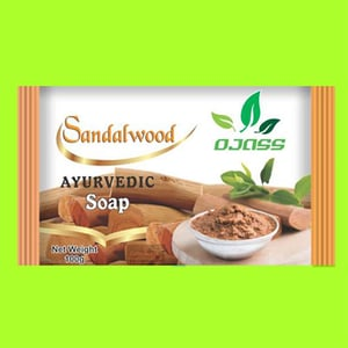 Sandal Ayurveda Soap(Extruded Soap)