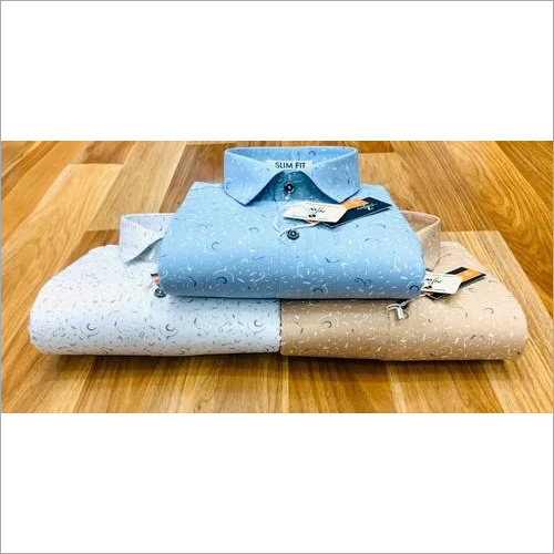 Cotton Fabric Printed Shirt