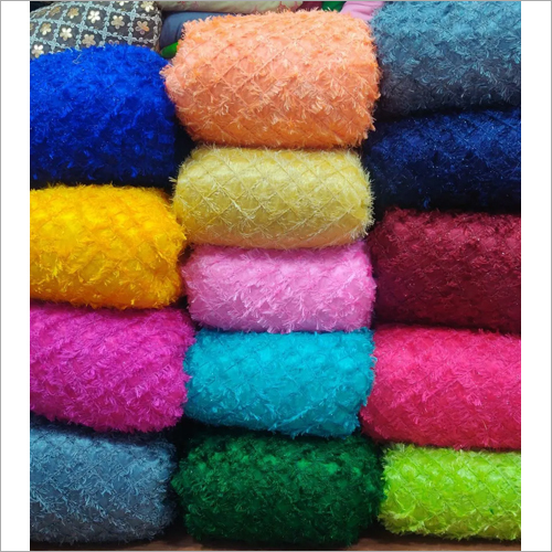 Tissue Fur Net Fabric