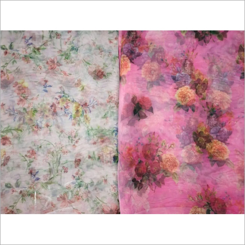 Organza Digital Print Fabric