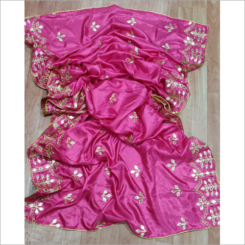 Gotta Patti Embroidery Dupatta