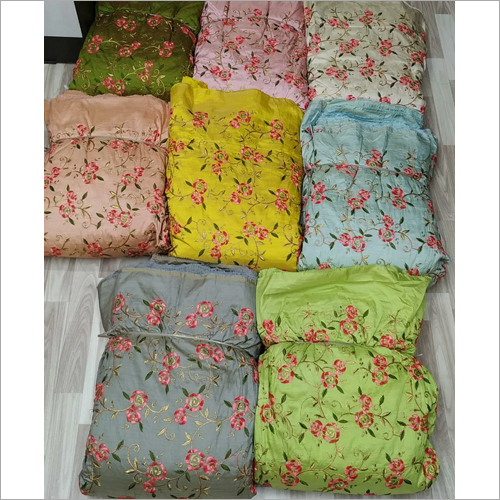 Bamboo Silk Embroidery Fabric