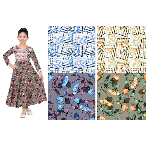 Digital Printed Jacquard Fabric