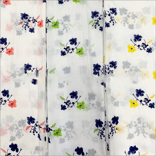 BSY Slub Printed Fabric