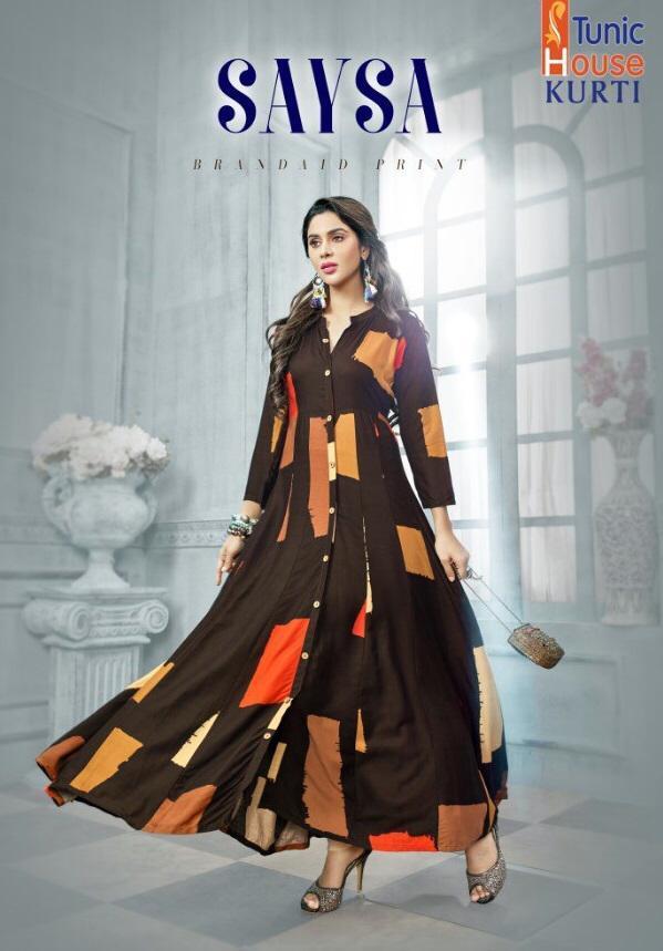 fancy long kurti