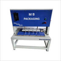 Automatic Scrubber Packing Machine With Compressor