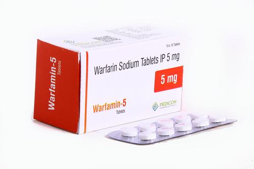 WARFARIN SODIUM 5MG