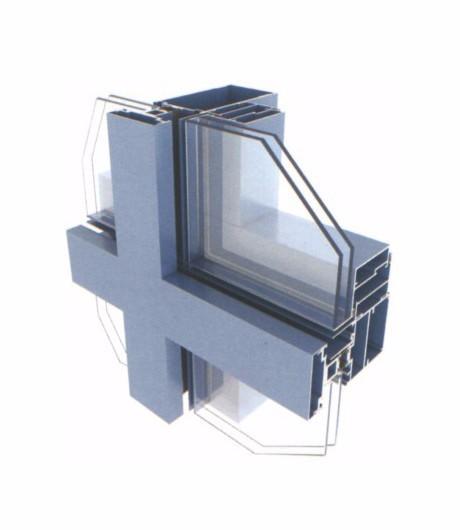 Glazed Aluminum Curtain Walls