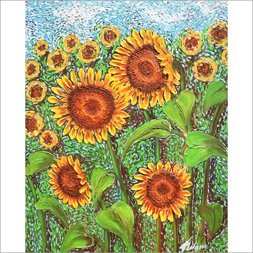 Sunflowers Painting