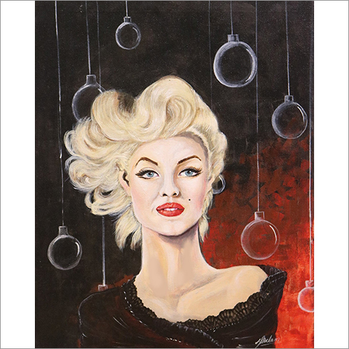 Blonde Beauty Painting