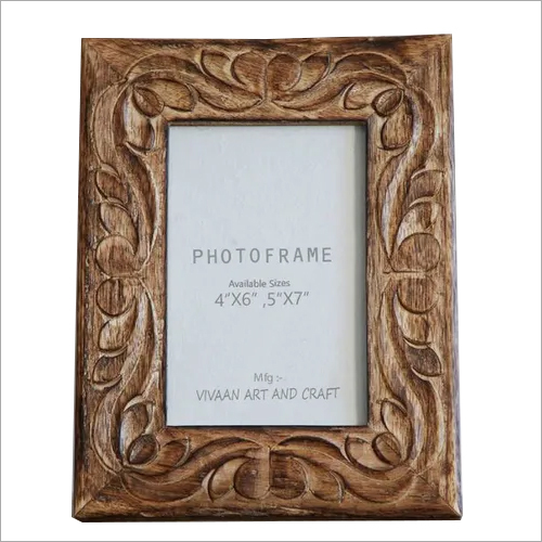 Hand carved Photo Frame Polished