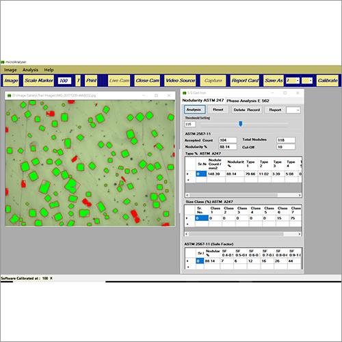 Cast Iron Analysis System