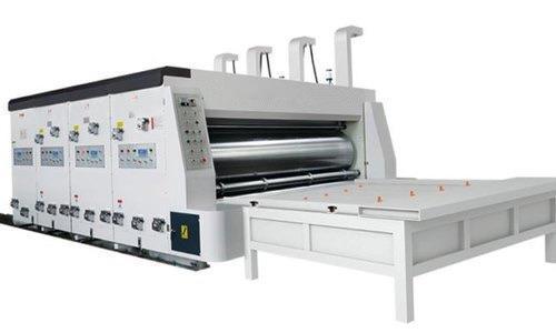 2 Colour Flexo Printer Slotter Rs4 With Chain Feeder