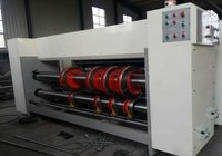 2 Colour Flexo Printer Slotter Rs4 With Chain Feeder