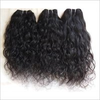 Processed Curly Human Hair Extensions