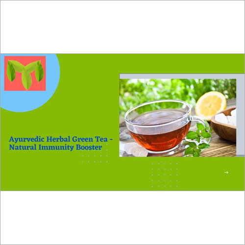 Ayurvedic Herbal Green Tea