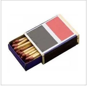 Cardboard Safety Match Box