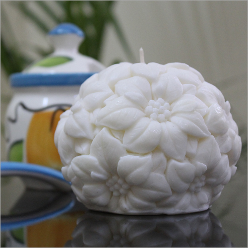 Flower Orb Candle