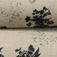 800 Jute Gold Print Fabric