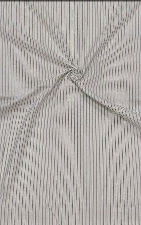 790 Black & White Checks Fabric