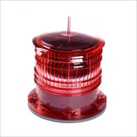 2NM 2 Nautical Mile Marine Red Solar Navigation Light