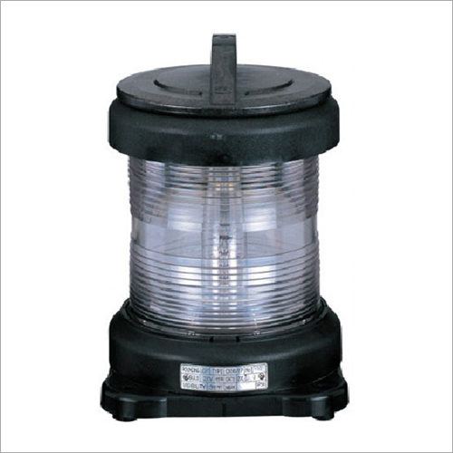 CXH6-11P Single Tier Round White Anchor Navigation Light