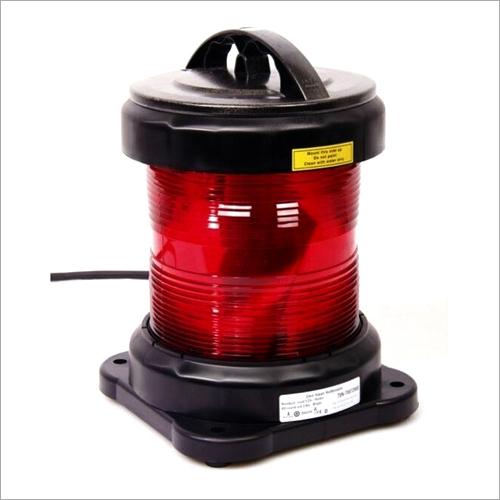 NUC CXH6-11P Single Tier Round Red Navigation Light