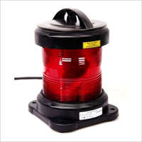 NUC CXH6-11P Single Tier Round Red Navigation Light