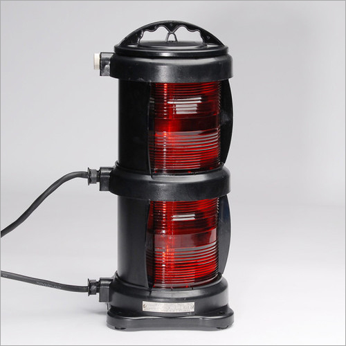 CXH2-10P Double Tier Deck Port Marine Navigation Light