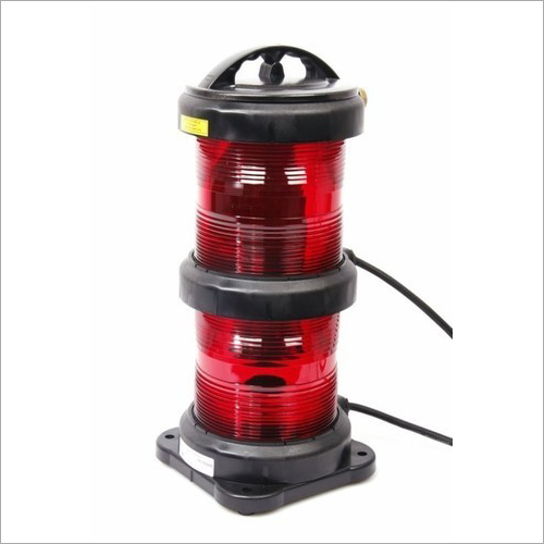 CXH6-10P Double Tier Round Red NUC RAM Navigation Light