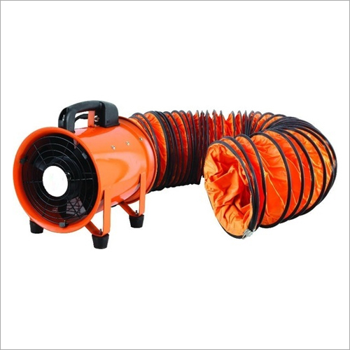 8 Inch X 10 Meter Flexible PVC Ducting For Blower