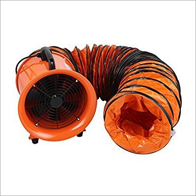 16 Inch X 10 Meter Flexible PVC Ducting For Blower