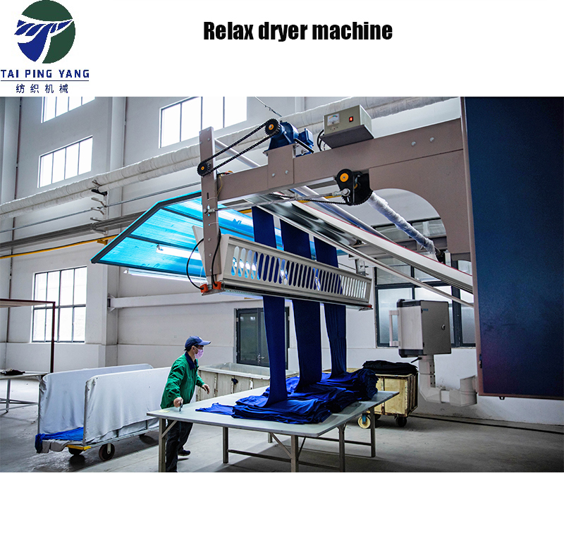 Textile Five layers Tensionless Dryer machine for knitting fabric