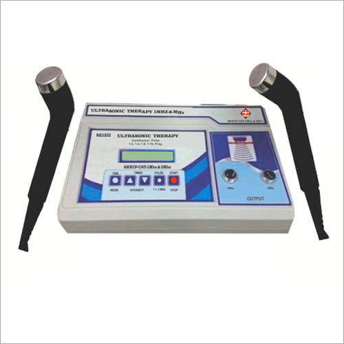 Ultrasonic Therapy Physiotherapy Instrument