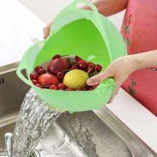 Multifunctional Washing Vegetables and Fruit Draining Basket Strainer