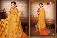 fancy art silk saree