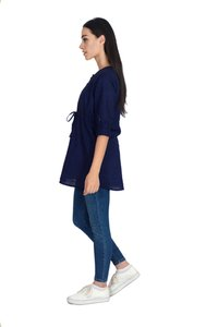 Remtex Women Tops (Blue )