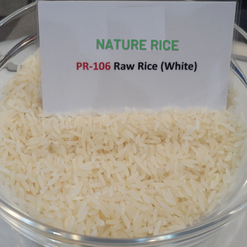 PR-106 Raw Rice (White)