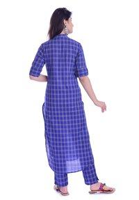 Remtex Women Kurta Pant Blue