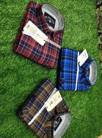 Men's Casual Checked Shirts