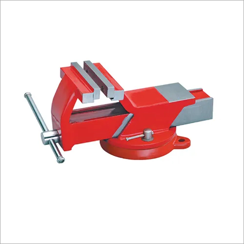 All Steel Vice Swivel Base With Replaceable Jaws