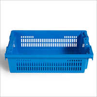 Plastic Bakery Tote Box Bakery Crate
