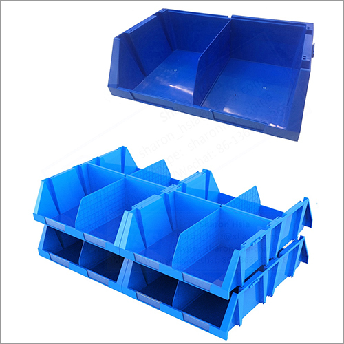 Plastic Stackable and Nestable Storage Bins