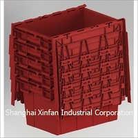 Plastic Container Plastic Storage Moving Crate Tote Box