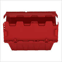 Stackable Storage Containers Turnover Plastic Crates