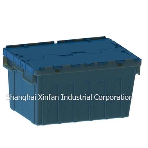 Blue Big Plastic Storage Container Box
